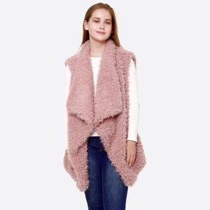 Jackets & Blazers - NWT Faux Fur Vest MULTIPLE COLORS